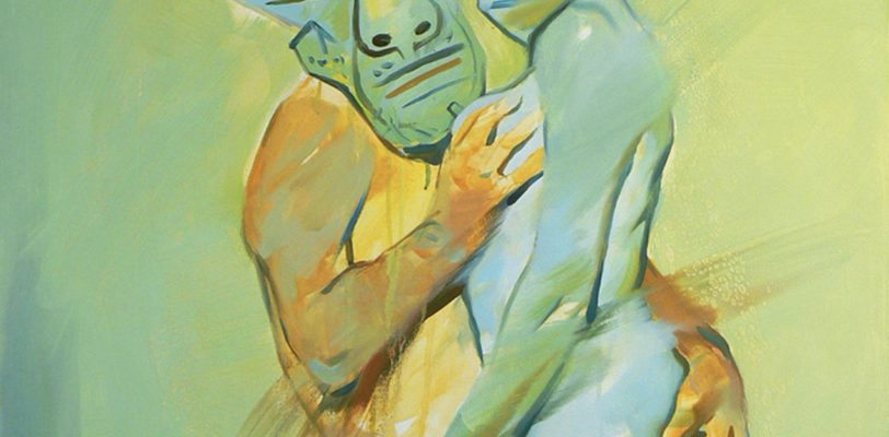 Picasso and his girlfriend 2 by Maxim Fomenko