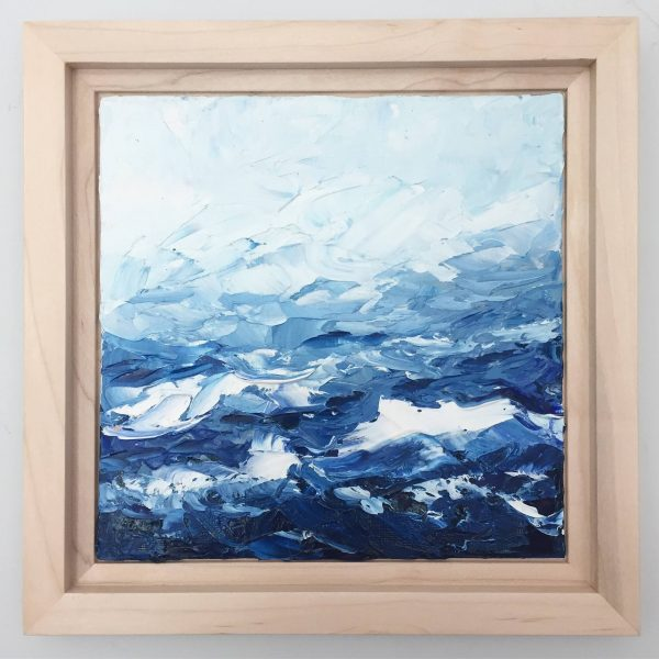 Abstracted Waves by Ann Marie Coolick