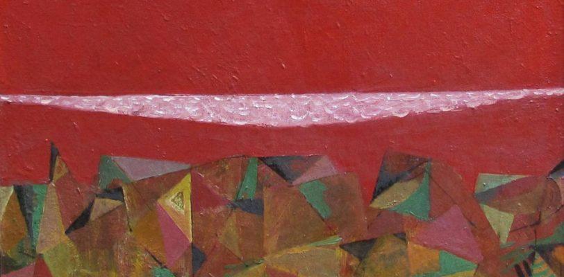 Beach Painting by Teimuraz Gagnidze