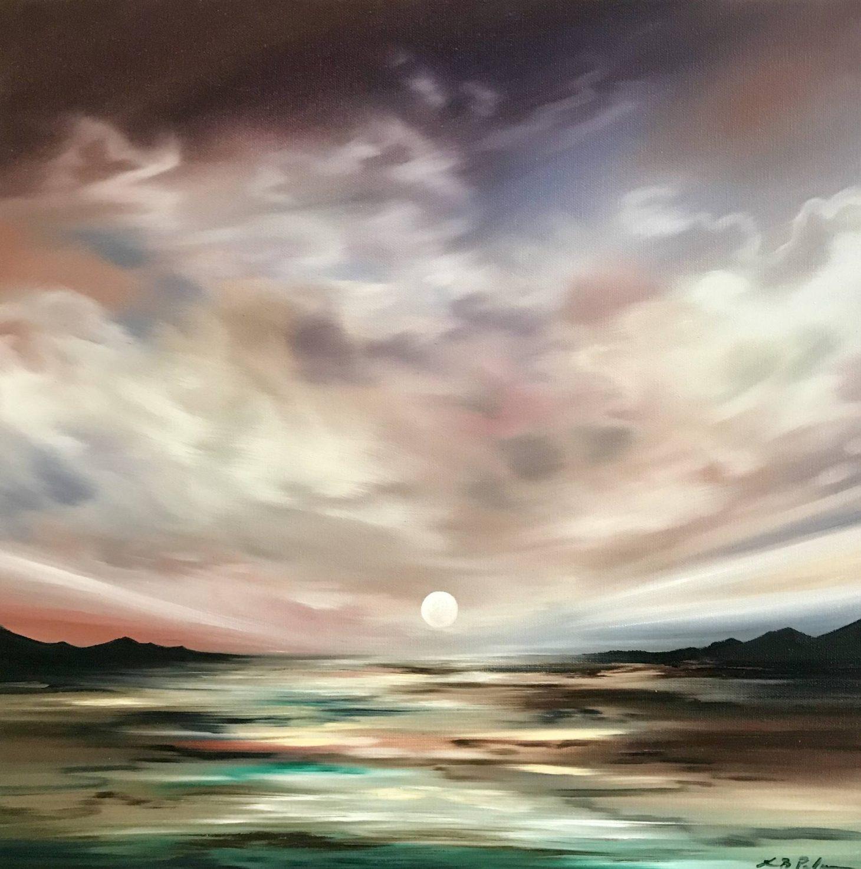 Setting Sun by Laura Blue Palmer