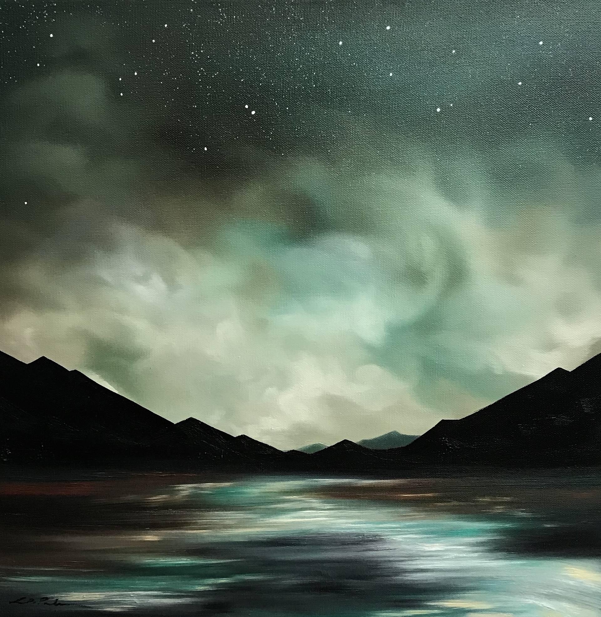 Aqua Light by Laura Blue Palmer