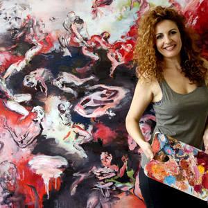 Artist Tijana Titin