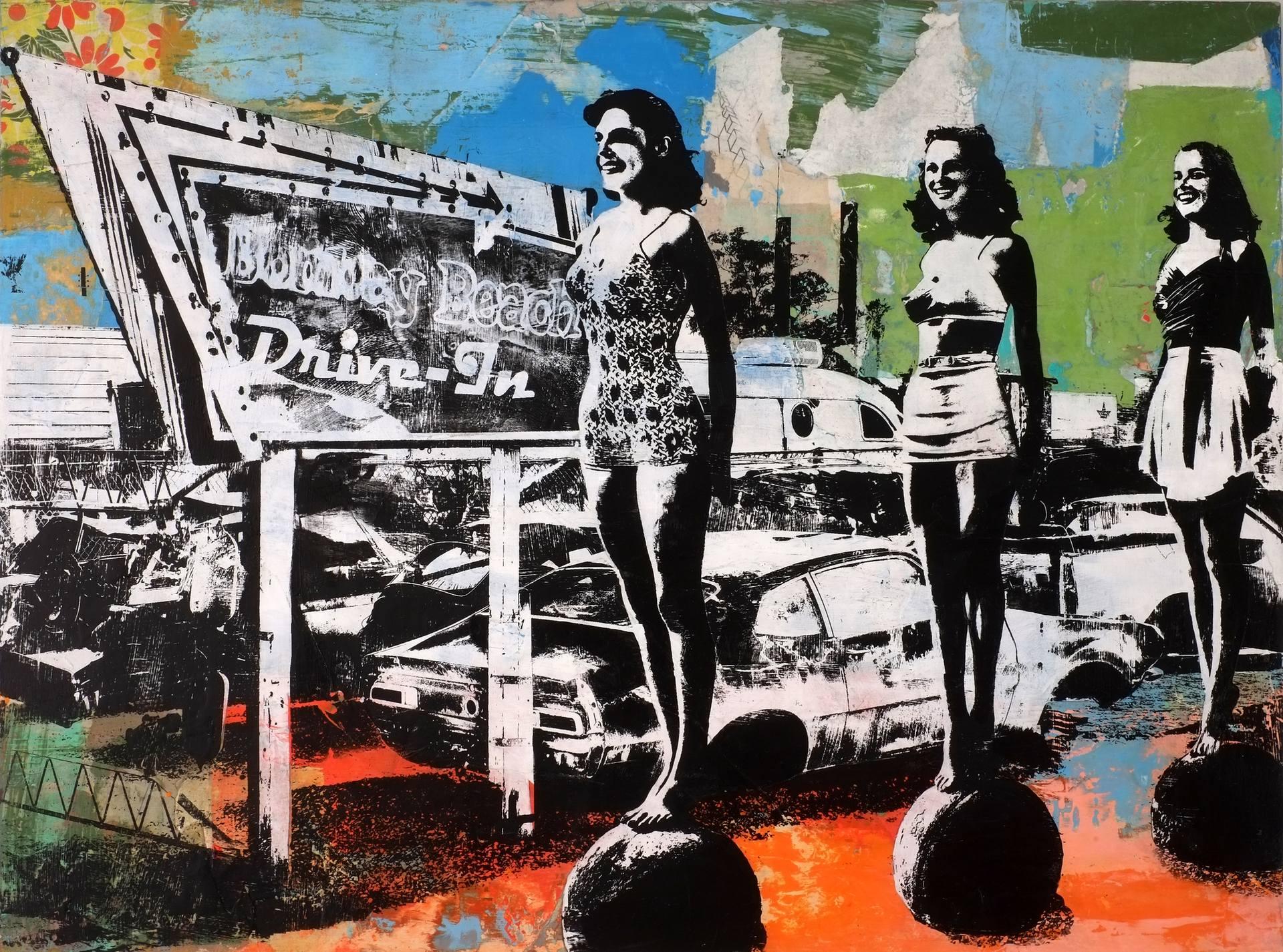 Bombay Beach Drive-in By Deanna Fainelli