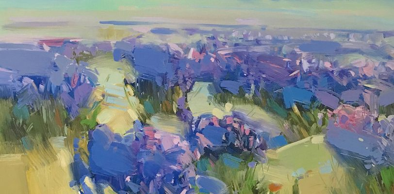 Fields of Lavender by Vahe Yeremyan