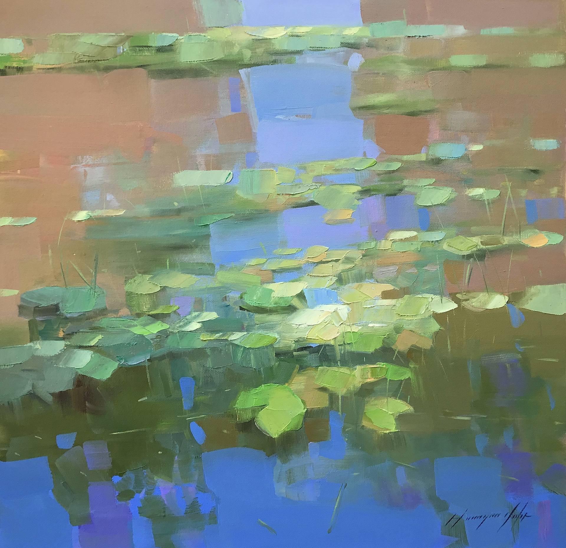 Waterlilies Pond by Vahe Yeremyan
