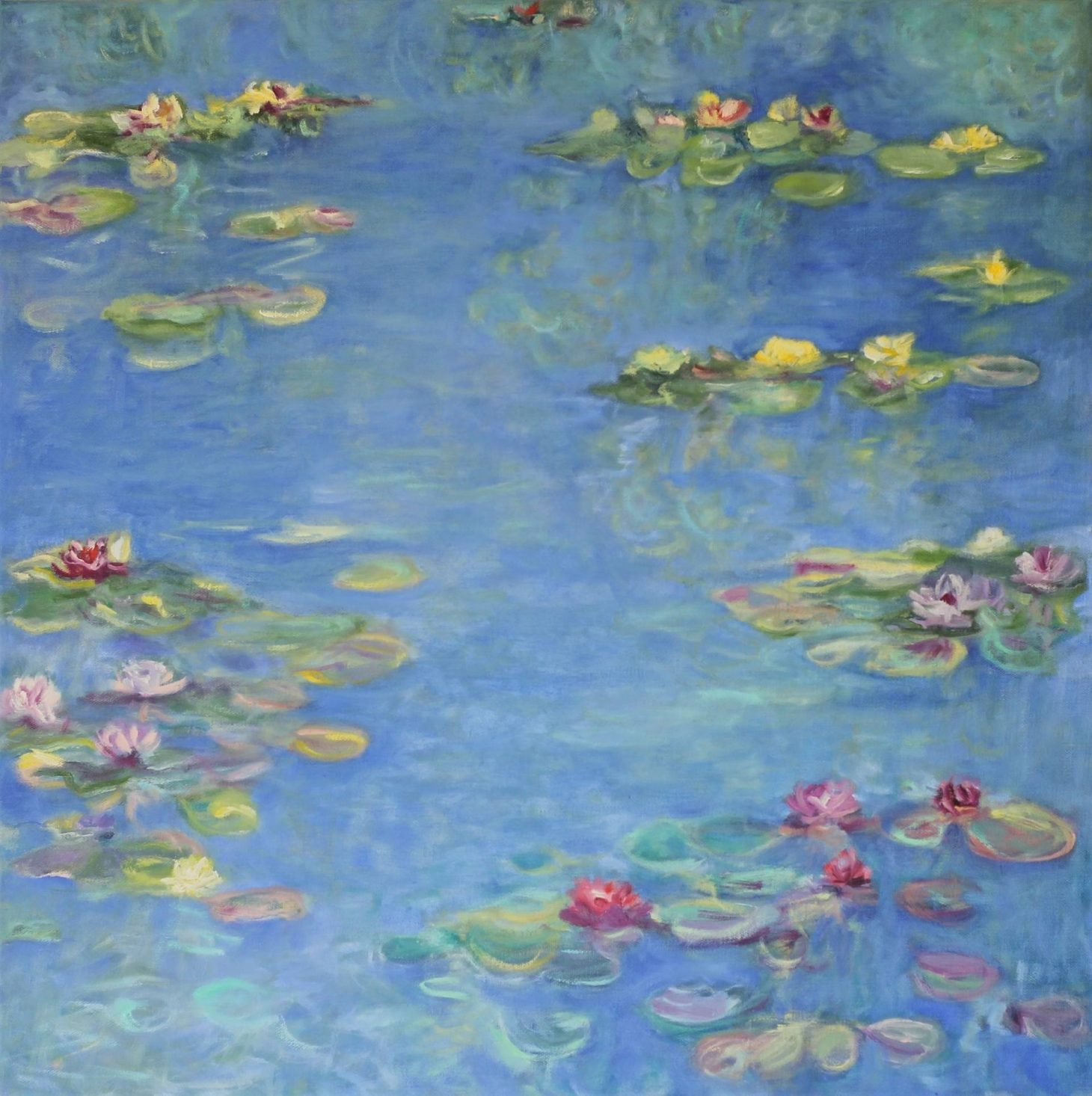 Waterlily Pond by Raewyn Carboni