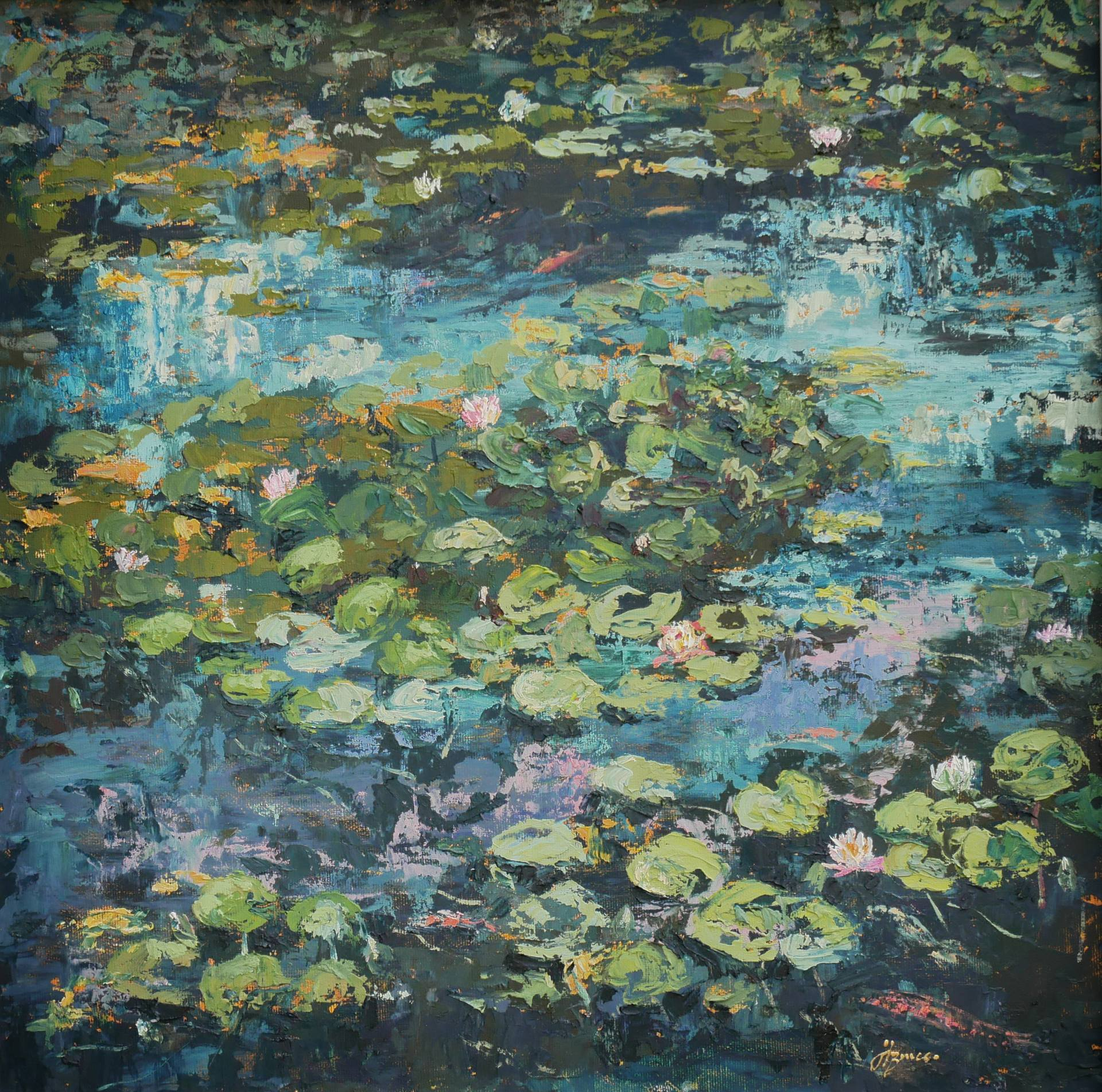Wexford Wells Water Lilies by Hannah Bruce