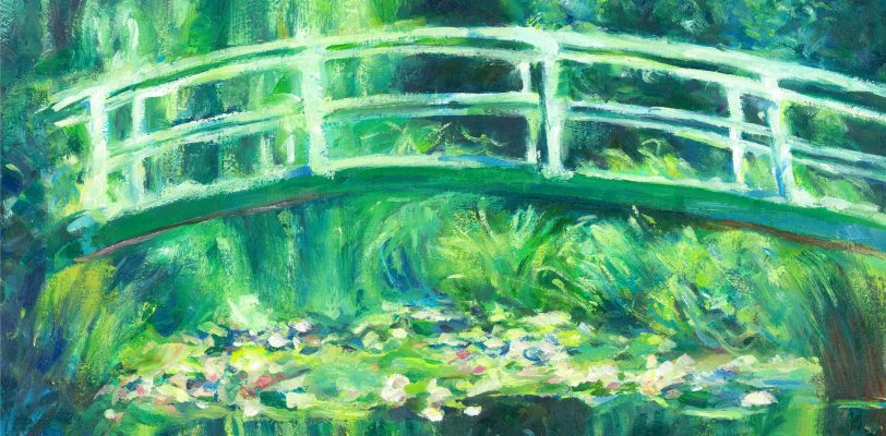 Claude Monet White Water Lilies by Mishyra Vladimir